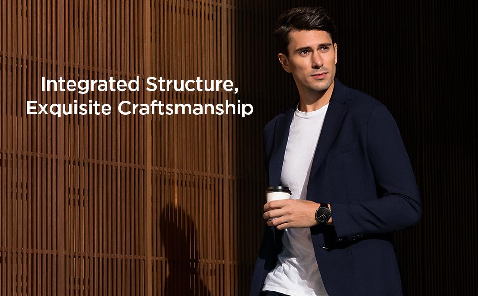 Estructura integrada, artesanía exquisita