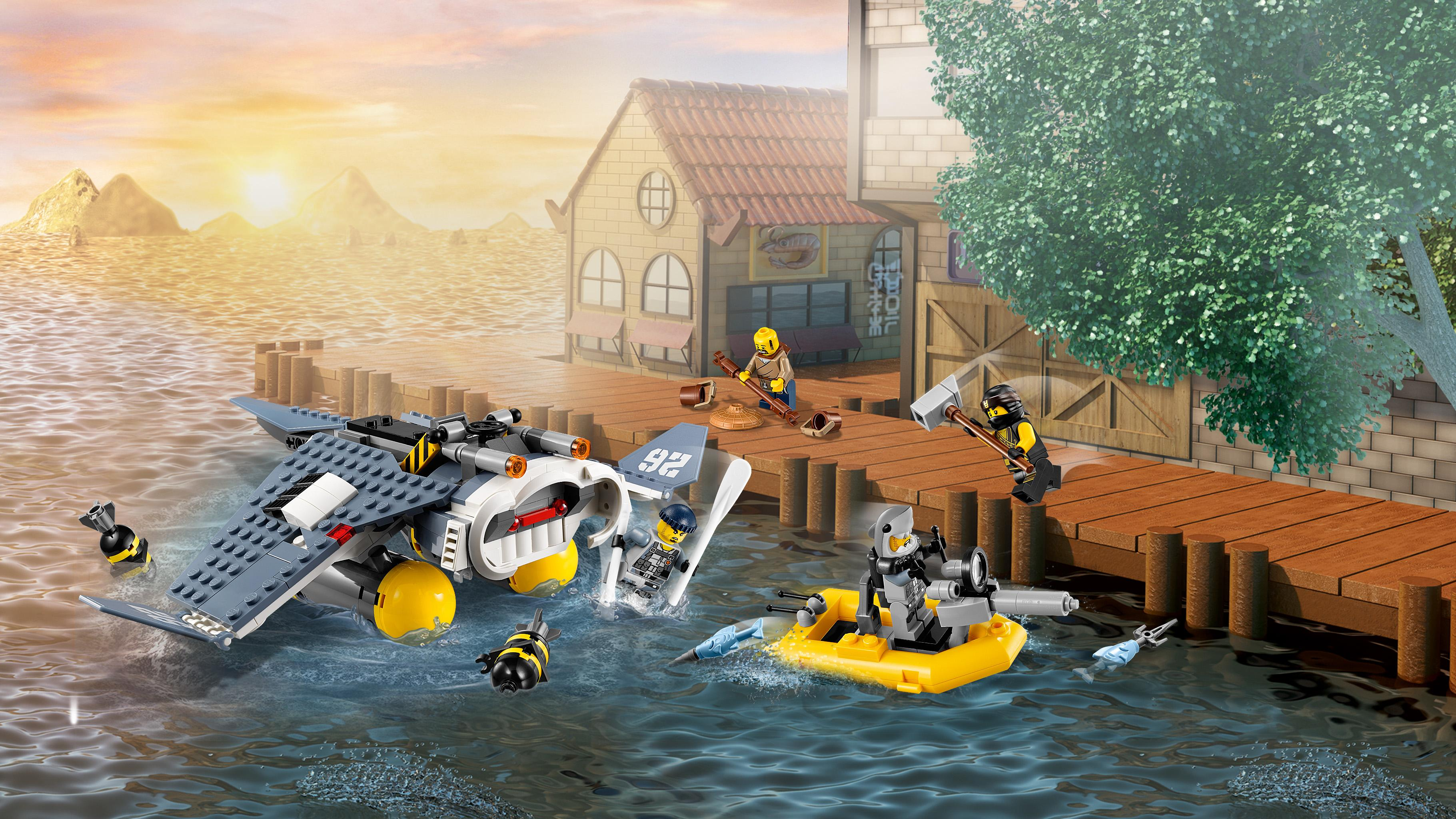 LEGO Ninjago - Ninjago Bombardero-mantarraya (70609