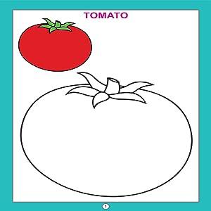 Buy Copy Colour - Vegetables (Copy Colour Books) Book Online ...