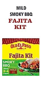 Mild Smoky BBQ fajita kit