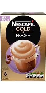 Nescafe, gold, mocha