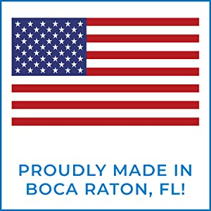 Made in Boca Raton FL Made in the USA American Made Domestic Business Support Local Business Florida