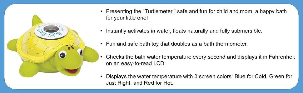 child bath accessory; child bath toy; tub toys; first bath; first bath toy; water thermometer