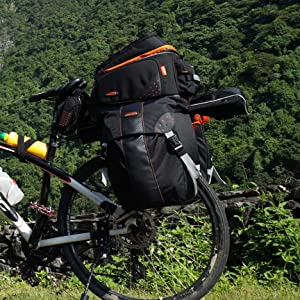 Amazon.com: Ibera PakRak ib-ra5 Touring bicicleta Carrier y ...