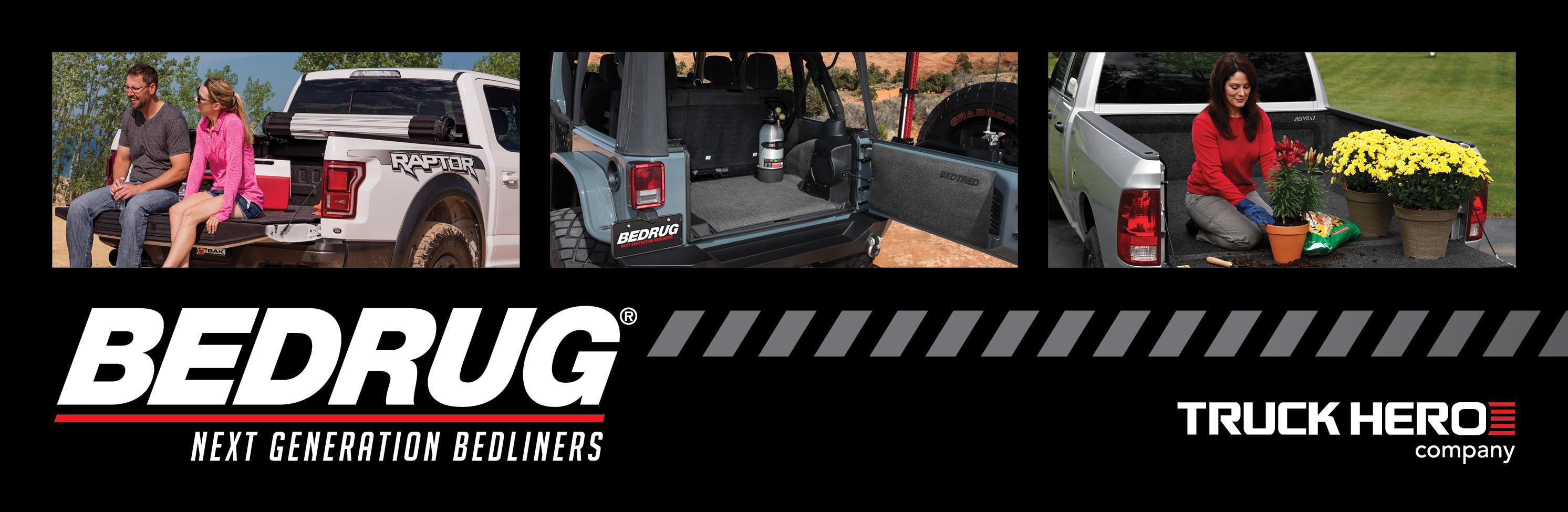 BedRug BRJKTG fits 07 BedRug Jeep Tailgate JK//JKU 2 Door /& 4 Door Tailgate Mat