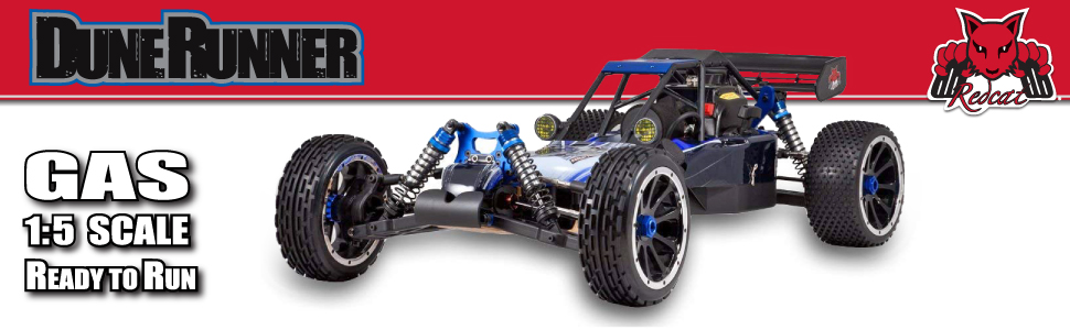 Redcat Dunerunner 1/5 Scale Scale Buggy off road Fast 2-Stroke Dune Buggy Ready to Run