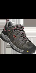 womens flint ii 2 low steel toe safety footwear work shoe