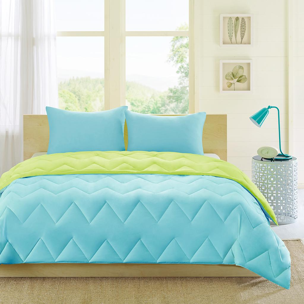 Intelligent design trixie comforter set full - Home design down alternative comforter ...