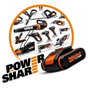Worx Powershare System Akku