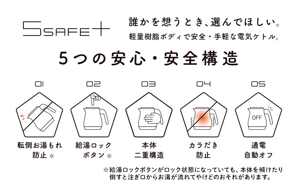 5つの安心・安全構造