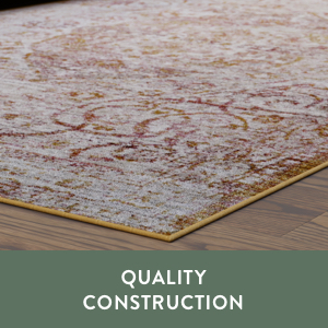 quality construction oriental rug