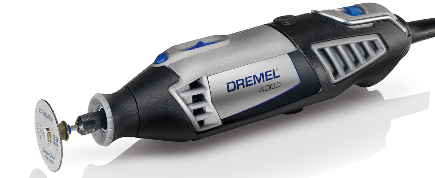 Dremel 4000 Rotary Tool 175 W Rotary Multi Tool Kit With 1 Attachment 45 Accessories Variable