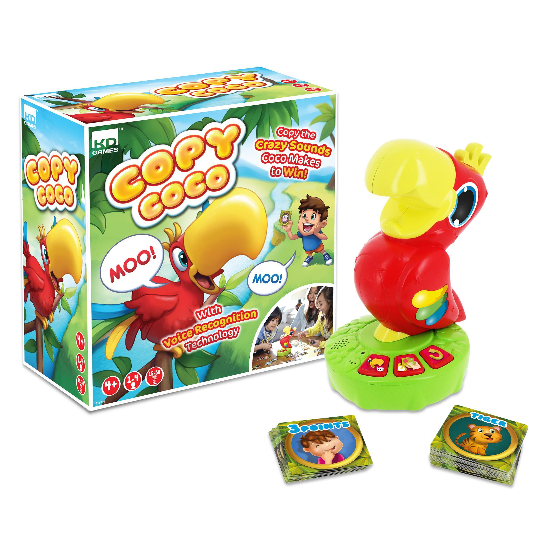 Talking Parrot Games
