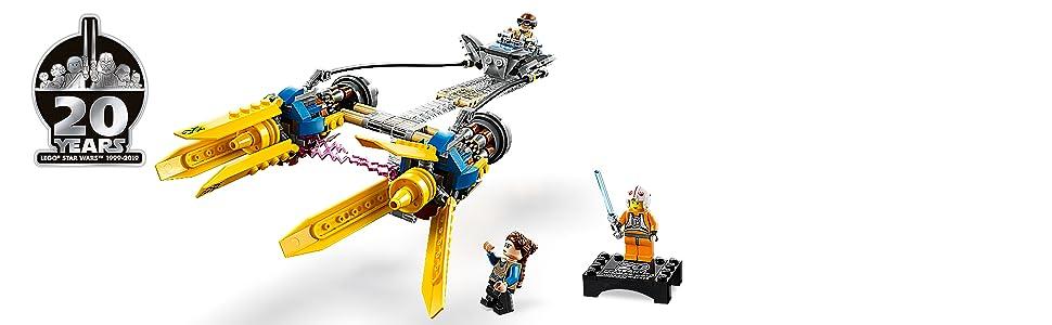Lego Star Wars 20th Anniversary Young Anakin Skywalker 75258