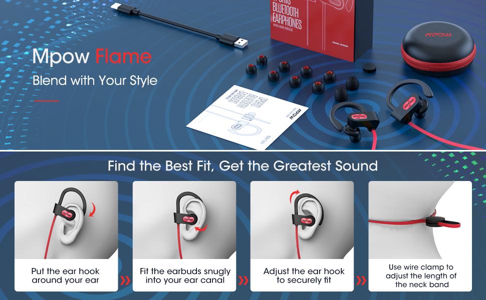 bluetooth headphones wireless headphones bluetooth sports headphones sports earbuds running earphone