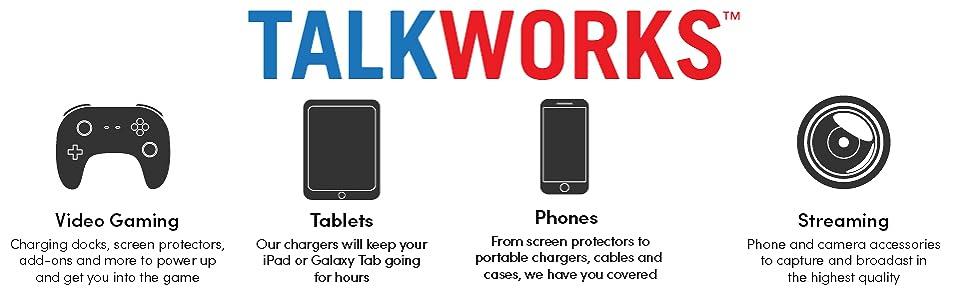 TalkWorks Nintendo Switch Screen Protectors
