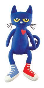 Giant pete the cat;large pete;blue cat;cat plush;cat stuffed animal;life size plush;james dean