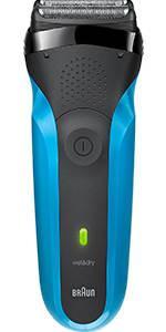 Braun - Rasoir CoolTec Wet & Dry sans fil (avec technologie active de refroidissement)