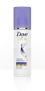 Dove - Spray districante per la cura dei capelli, riparazione intensiva per l'uso quotidiano, 200 ml