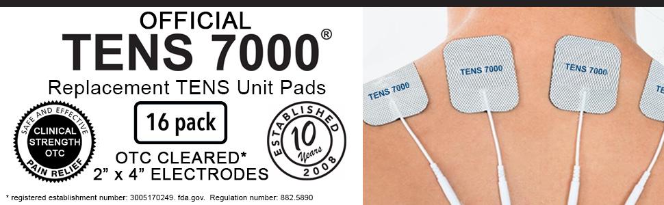 TENS 7000 pads