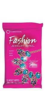 Connoisseurs Fashion Wipes Costume Jewelry Cleaner