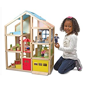 doll;house;boys;girls'preschool;townhouse