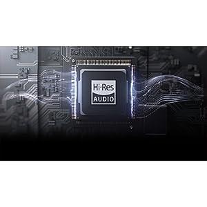 High Resolution: Atemberaubende und lebensechte Audioqualität