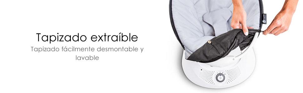 4moms rockaRoo deslizante asiento hamaca mecedora infantil bebé movimiento balancín columpiocalma