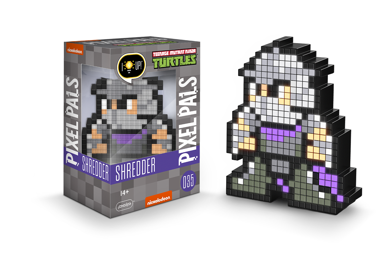 Amazon.com: PDP Pixel Pals Teenage Mutant Ninja Turtles Shredder ...