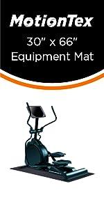 """30"""" x 66"""" fitness equipment mat"""