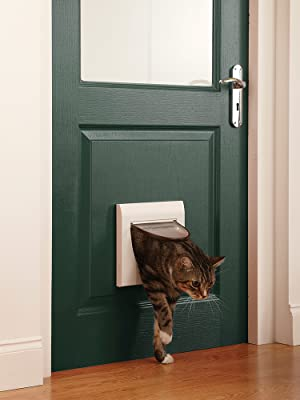 Petsafe Staywell 4 Way Locking Classic Cat Flap Tunnel Included