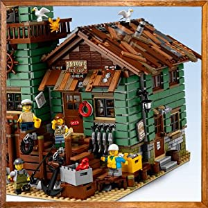 Lego ideas old fishing store 21310 building for Fishing lego set