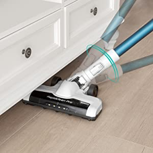 Dust and debris are hidden no more now that you can see them with a lighted cleaning path!