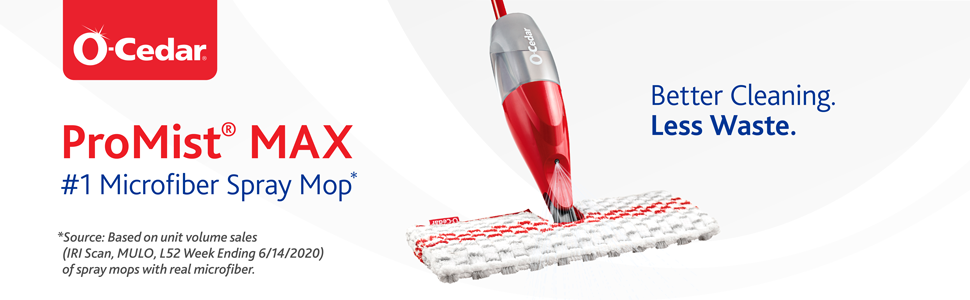 promist max is the number 1 microfiber spray mop