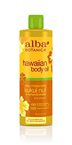 Hawaiian Kukui Nut Body Oil