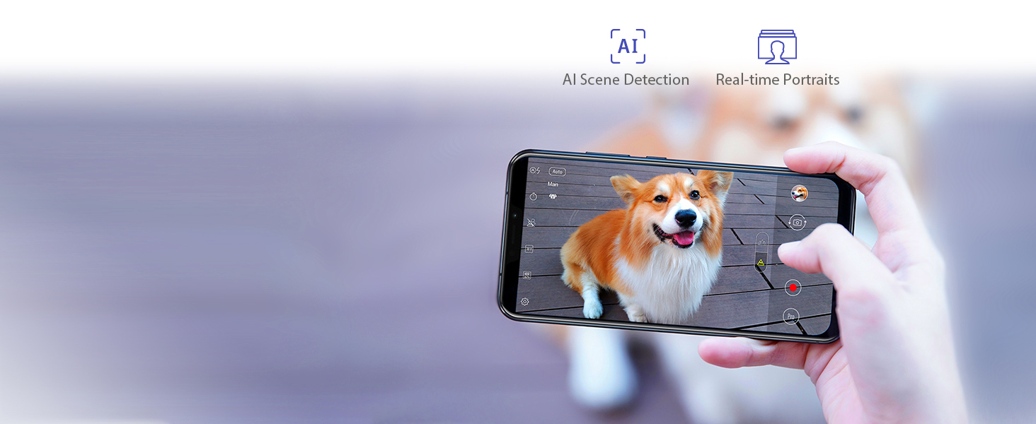 AI camera portrait selfie ZenFone 5Z ZS620