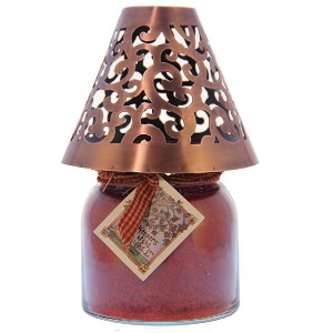 Copper Victorian Candle Shade