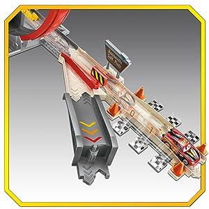 Disney Cars  Pista de coches Super Looping XRS Rocket Racing (Mattel GJW44)