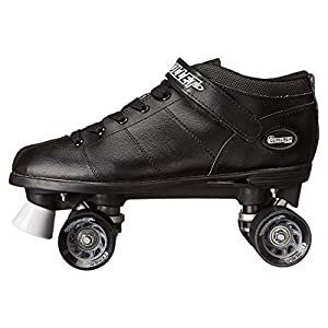side view of skates