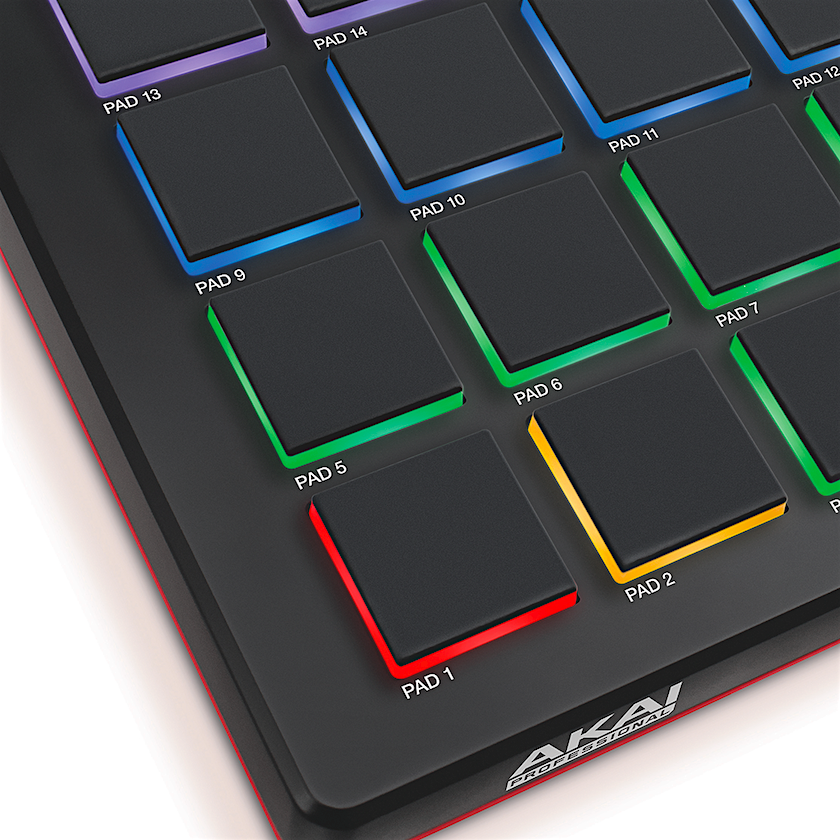 akai professional mpd226 16 pad usb midi pad controller with full complement of. Black Bedroom Furniture Sets. Home Design Ideas