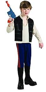 classic han solo child costume