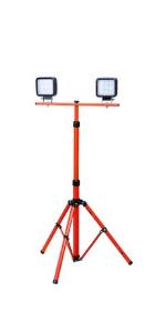 Groz 55019 54W LED Tripod Site Lamp