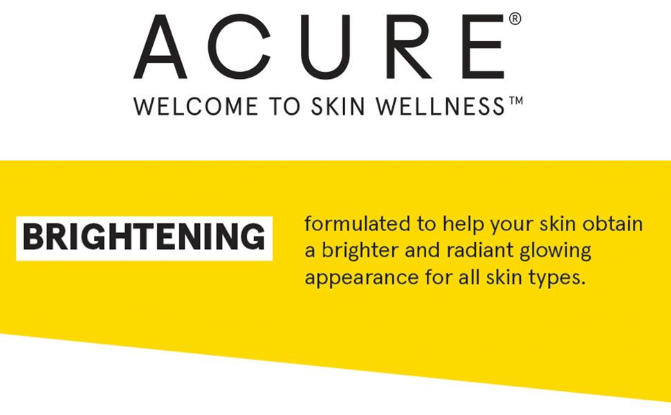 Acure;Brightening Facial Scrub;vegan