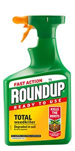 Herbicida Roundup de acción rápida listo para usar