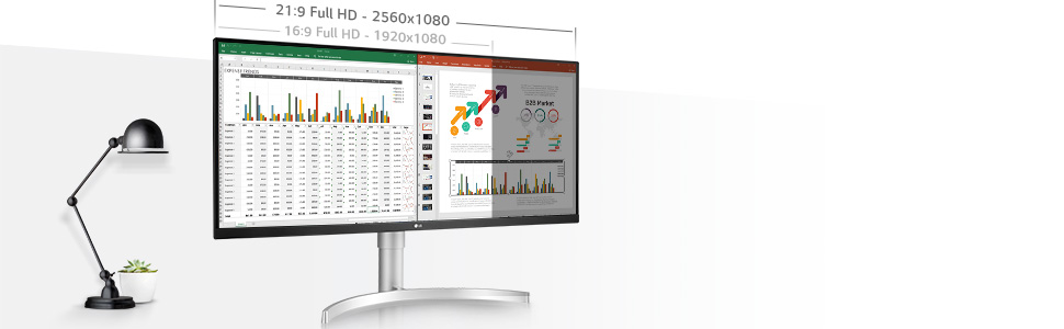 Home Office Monitor 34WK650