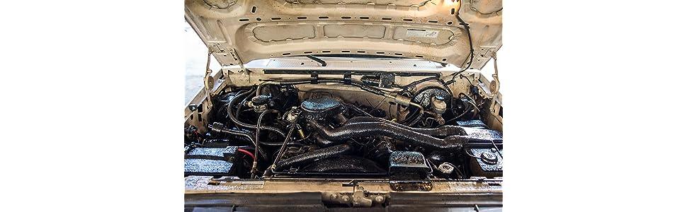 Amazon.com: Gunk EBGEL Engine Brite GEL HD Engine Degreaser - 15 oz.: Automotive