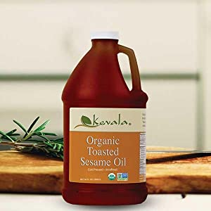 Organic Oil, Toasted Sesame Oil, Frying Oil, Massage Oil, High smoke point oil, Organic Sesame Oil