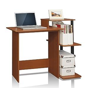 Furinno 12095bk Br Econ Multipurpose Home Office Computer