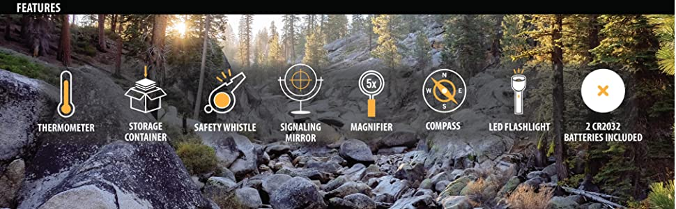 Camping Hiking Hunting Fishing Outdoors Survival Emergency Preparedness Prepping Prospecting