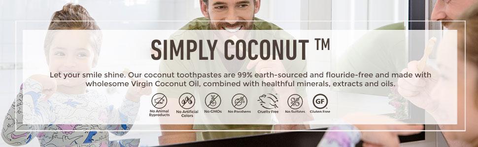 JASON Simply Coconut Toothpaste